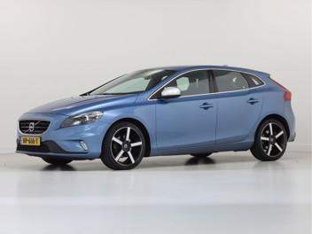 Blauwe Volvo